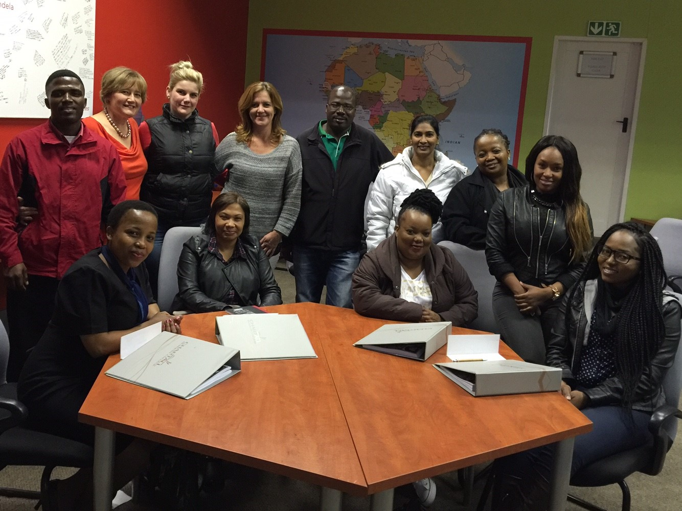 Starting a new learnership with Chartall Business college