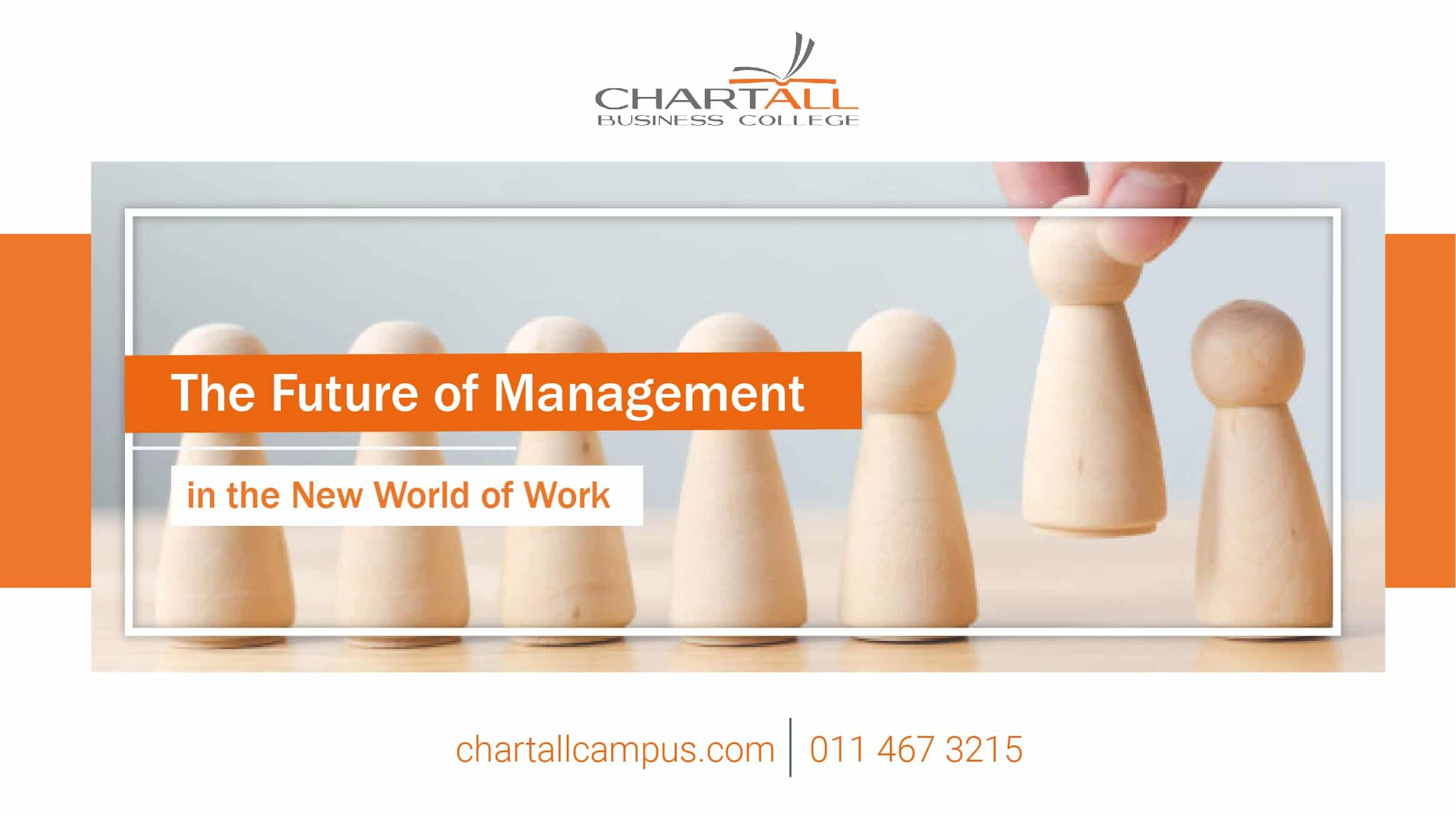 What is the future of management in the new world of work?