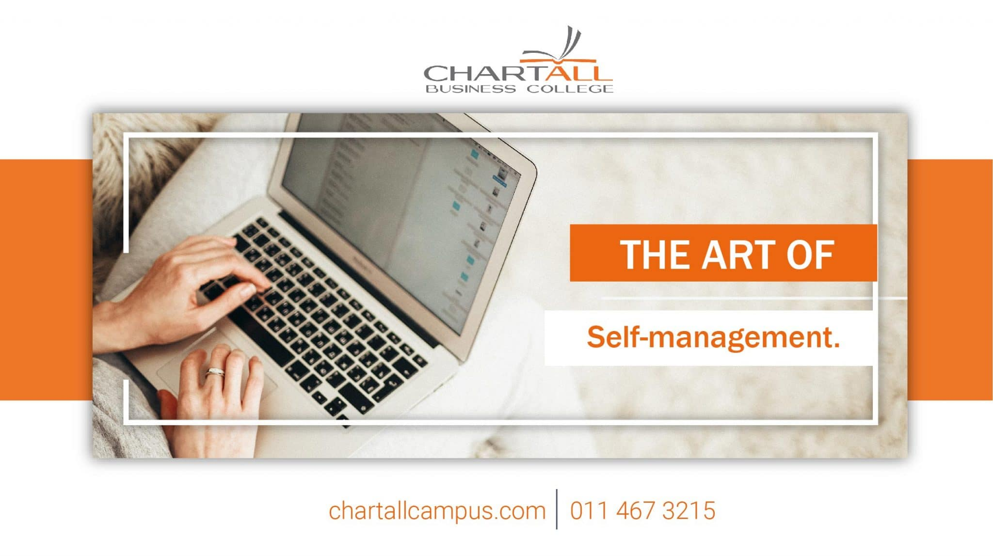 The art of self-management.